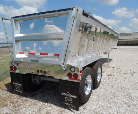 ALUMINUM END DUMPS STEPHENS TRAILER