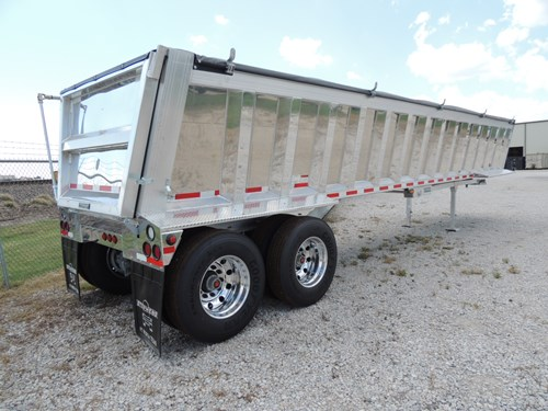 ALUMINUM END DUMPS STEPHENS TRAILERS