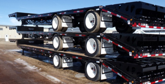 Drop Deck truck trailers circle-r