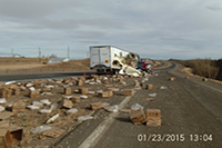 Twisted Trailer Frame AFTER Fargo ND - Gallery